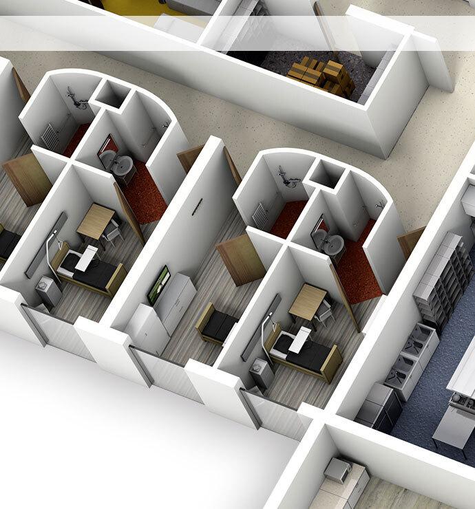 Zones d'hébergement