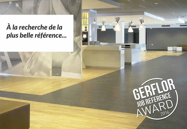 Gerflor Job Reference Award 2016 FR