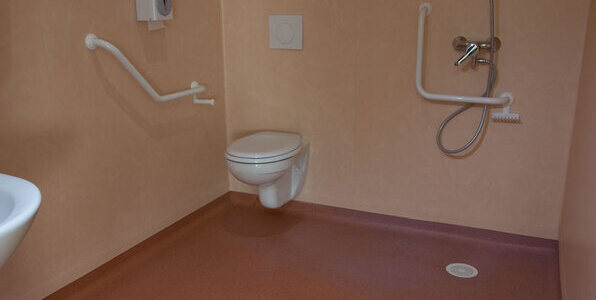 Elegance sd rev tement de sol - Salle de bain hopital ...