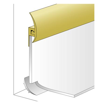 Gerflor for Profil de finition pvc